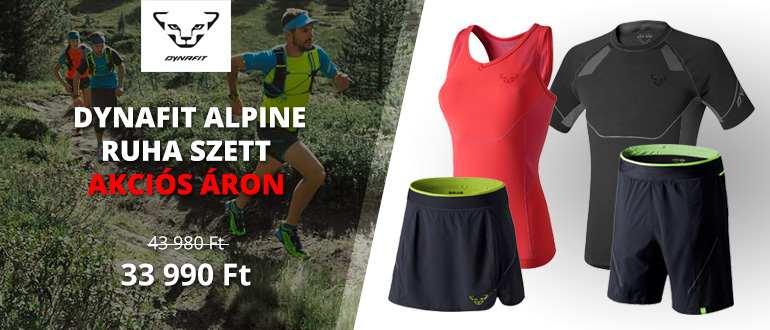 Dynafit Alpine ruha szett akciós áron
