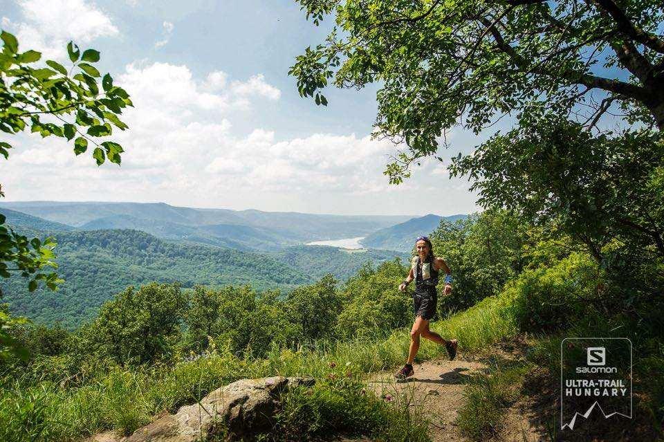 Michtiov Emese első 50+-os futása a Salomon Ultra-Trail Hungaryn
