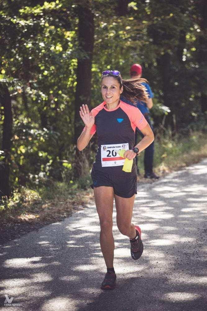 Michtiov Emese nyerte a Zemplén Trail félmaratoni távját