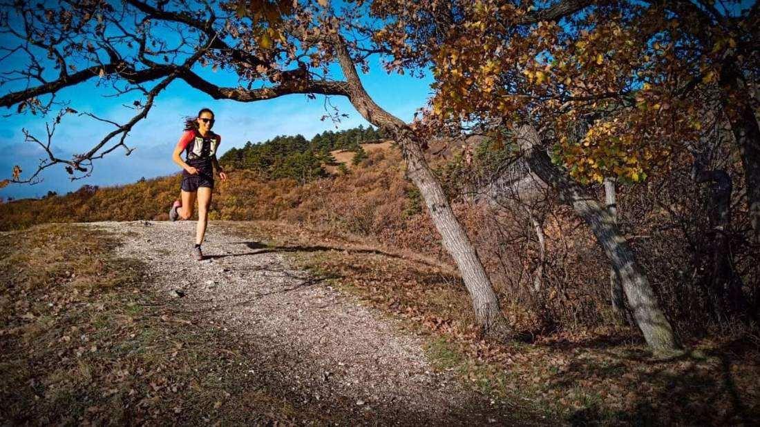 Michtiov Emese futása a Budai Trail pályáján