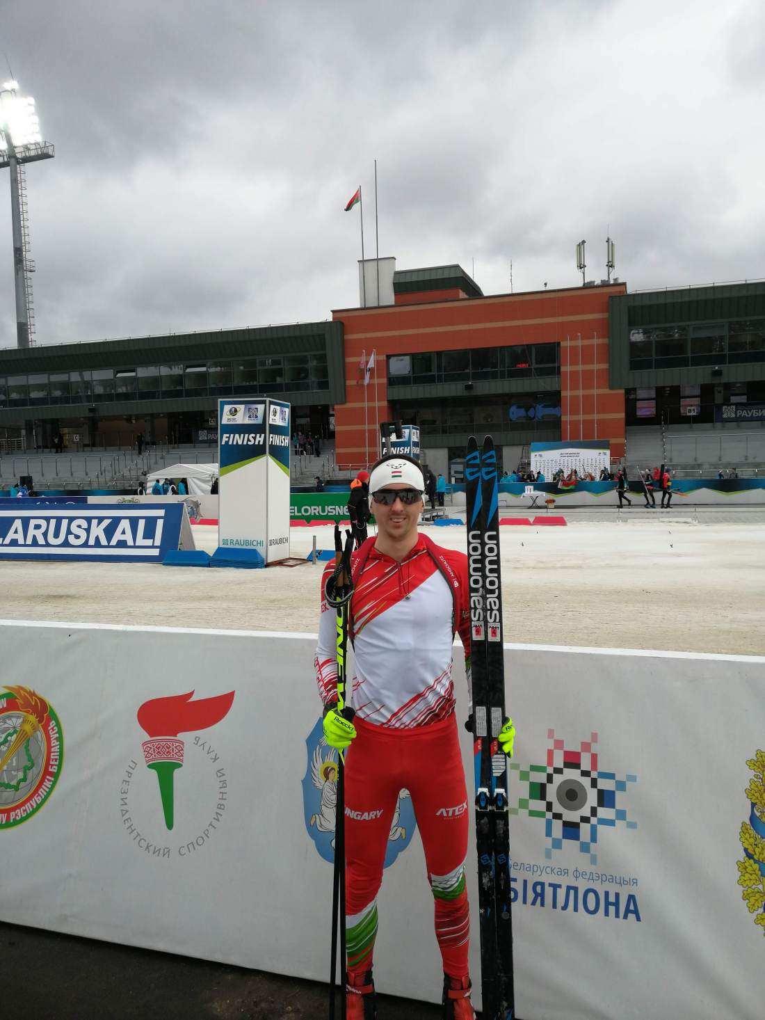 Biatlon Európabajnokság áthelyezve: Büki Ádám nehéz körülmények között versenyzett