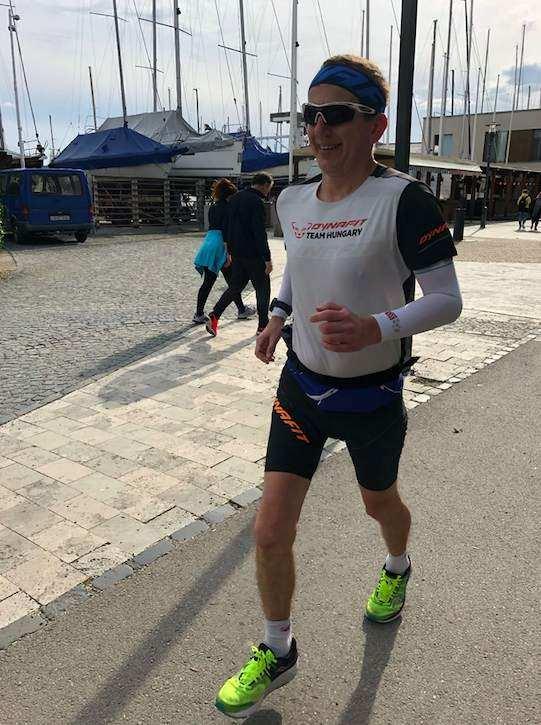 Kovács Józsi 196 kilométernyi edzése a Balaton körül 4 nap alatt