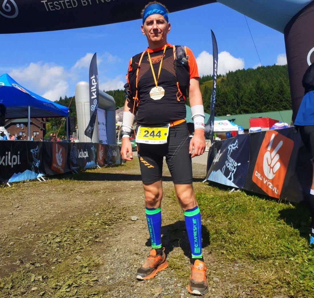 Kovács Józsi a Hegyi Kihíváson készült a Julian Alps terepfutó versenyre