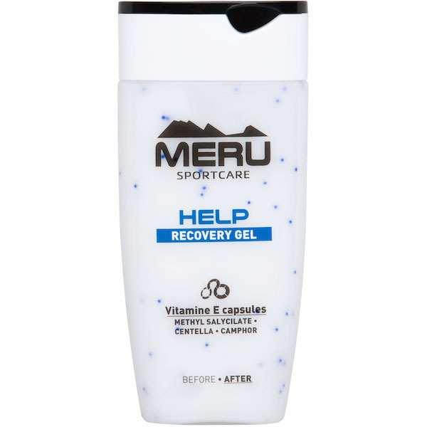 MERU HELP – Helyreállító gél fájó, igénybevett testrészek ápolására