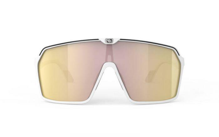 RUDY PROJECT SPINSHIELD WHITE/MULTILASER GOLD szemüveg